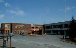 Hallset Skole på Byåsen i Trondheim